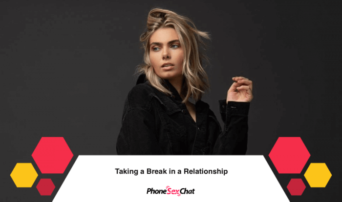 Taking a Break in a Relationship Image